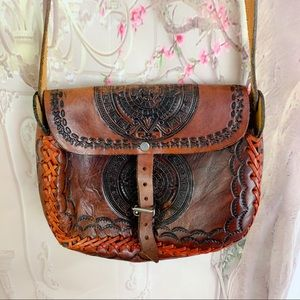 Handmade Indian Crafted Leather Purse